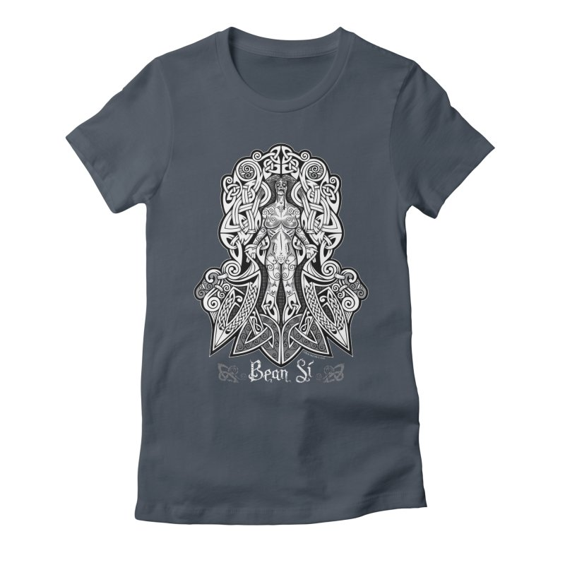 Banshee (bean sí) Women's T-Shirt by Celtic Hammer Club