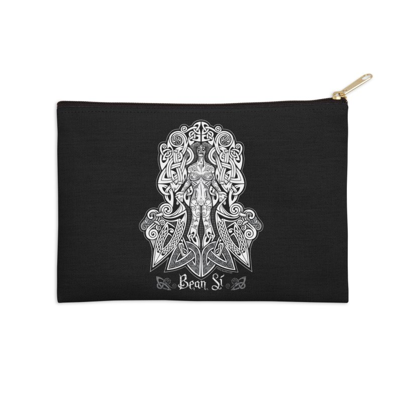 Banshee (bean sí) Accessories Zip Pouch by Celtic Hammer Club