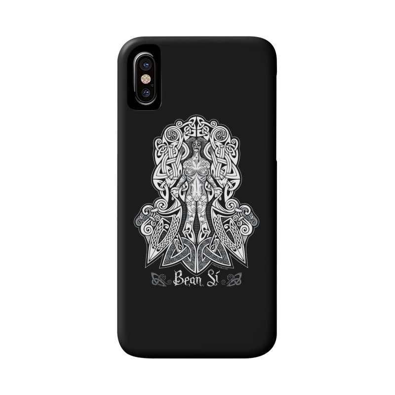 Banshee (bean sí) Accessories Phone Case by Celtic Hammer Club Apparel