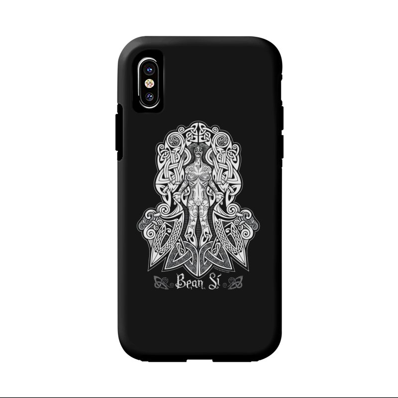 Banshee (bean sí) Accessories Phone Case by Celtic Hammer Club