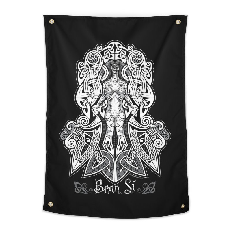 Banshee (bean sí) Home Tapestry by Celtic Hammer Club Apparel