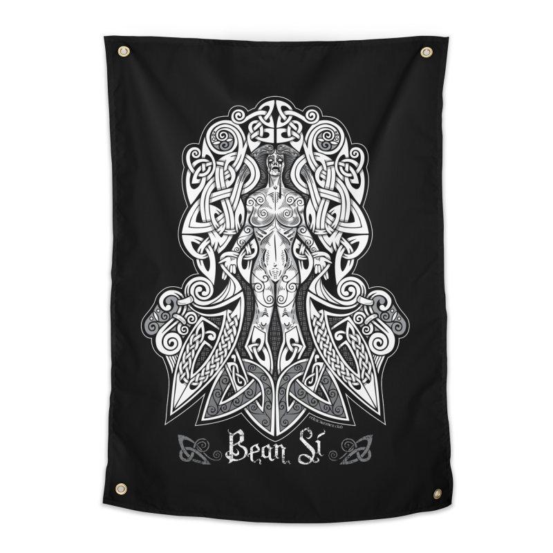 Banshee (bean sí) Home Tapestry by Celtic Hammer Club Apparel