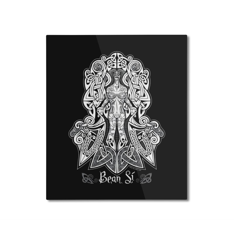 Banshee (bean sí) Home Mounted Aluminum Print by Celtic Hammer Club