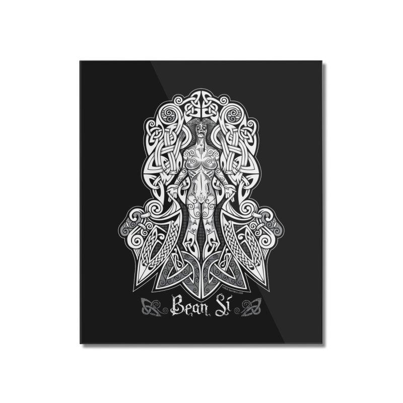 Banshee (bean sí) Home Mounted Acrylic Print by Celtic Hammer Club Apparel