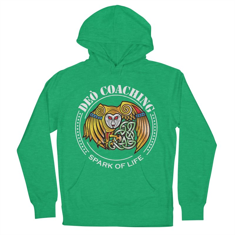 Deò Coaching Men's French Terry Pullover Hoody by Celtic Hammer Club Apparel