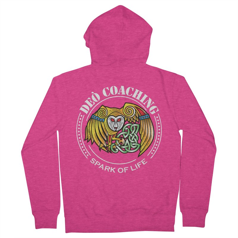 Deò Coaching Women's French Terry Zip-Up Hoody by Celtic Hammer Club Apparel