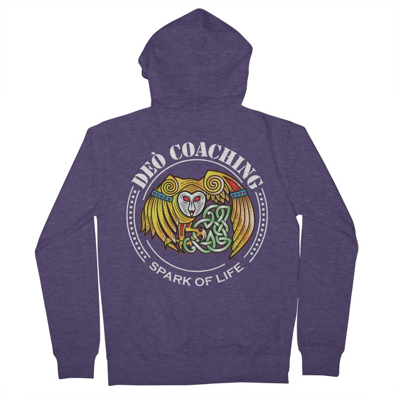 Deò Coaching Men's French Terry Zip-Up Hoody by Celtic Hammer Club Apparel