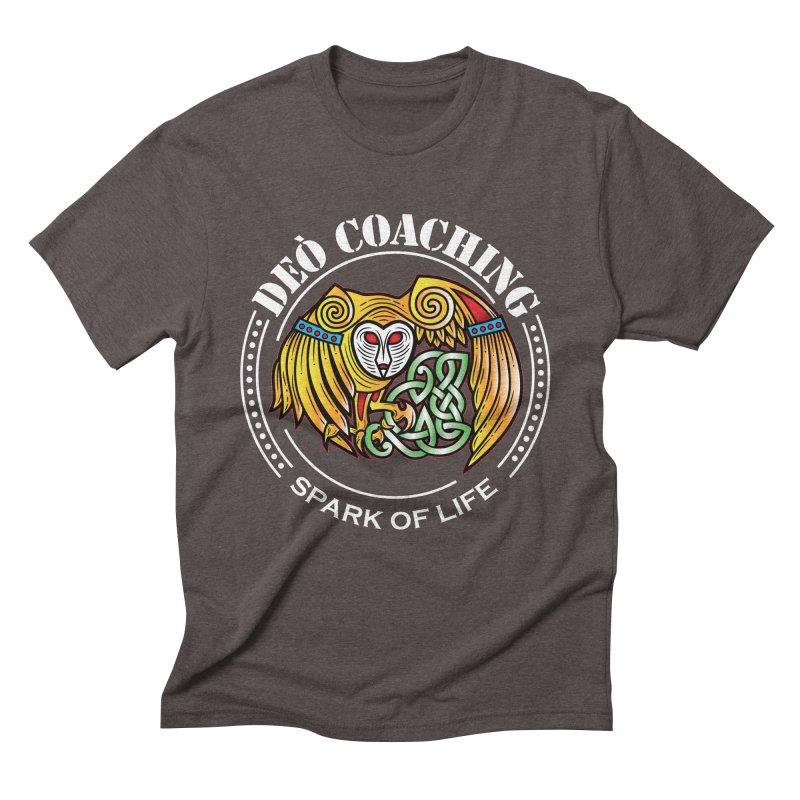 Deò Coaching Men's Triblend T-Shirt by Celtic Hammer Club