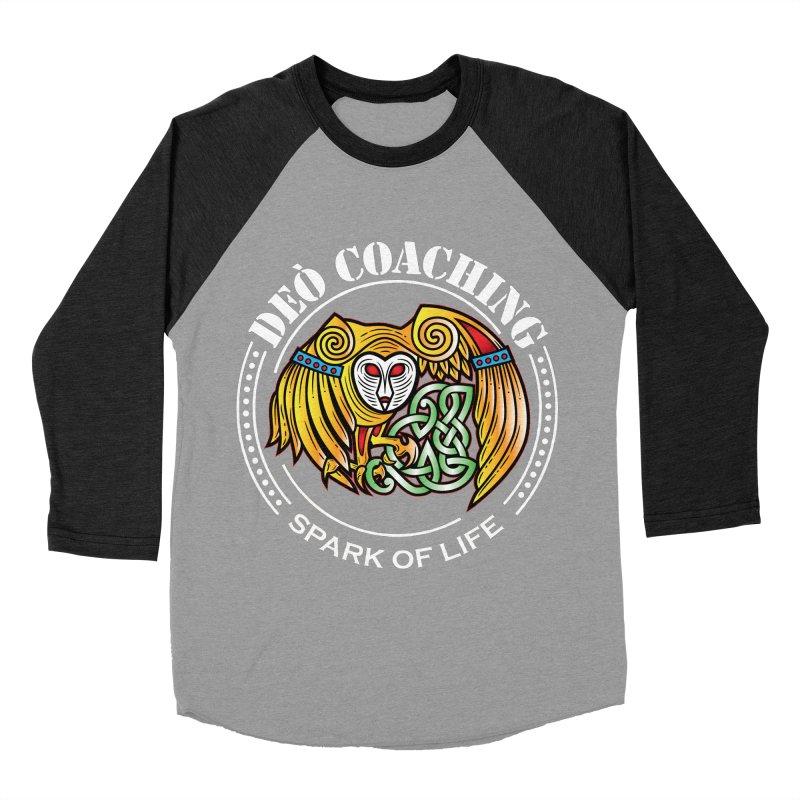Deò Coaching Women's Baseball Triblend Longsleeve T-Shirt by Celtic Hammer Club Apparel