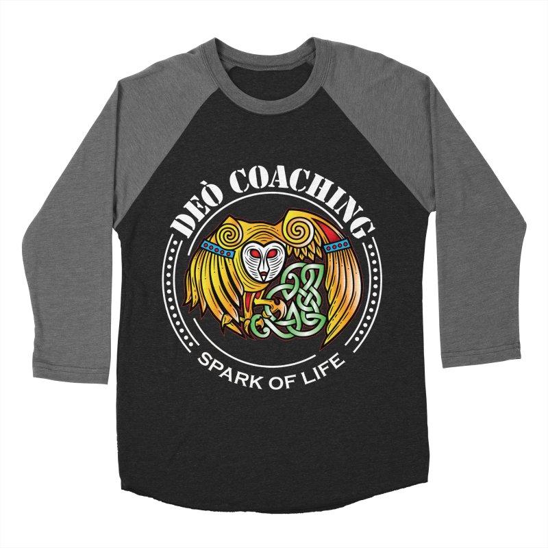 Deò Coaching Men's Baseball Triblend Longsleeve T-Shirt by Celtic Hammer Club Apparel