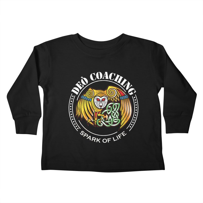 Deò Coaching Kids Toddler Longsleeve T-Shirt by Celtic Hammer Club