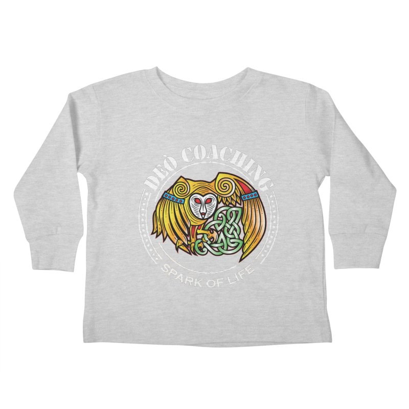 Deò Coaching Kids Toddler Longsleeve T-Shirt by Celtic Hammer Club Apparel