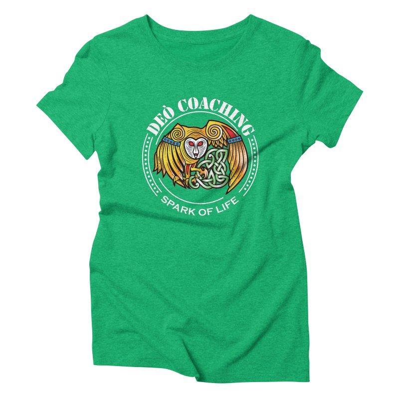 Deò Coaching Women's Triblend T-Shirt by Celtic Hammer Club