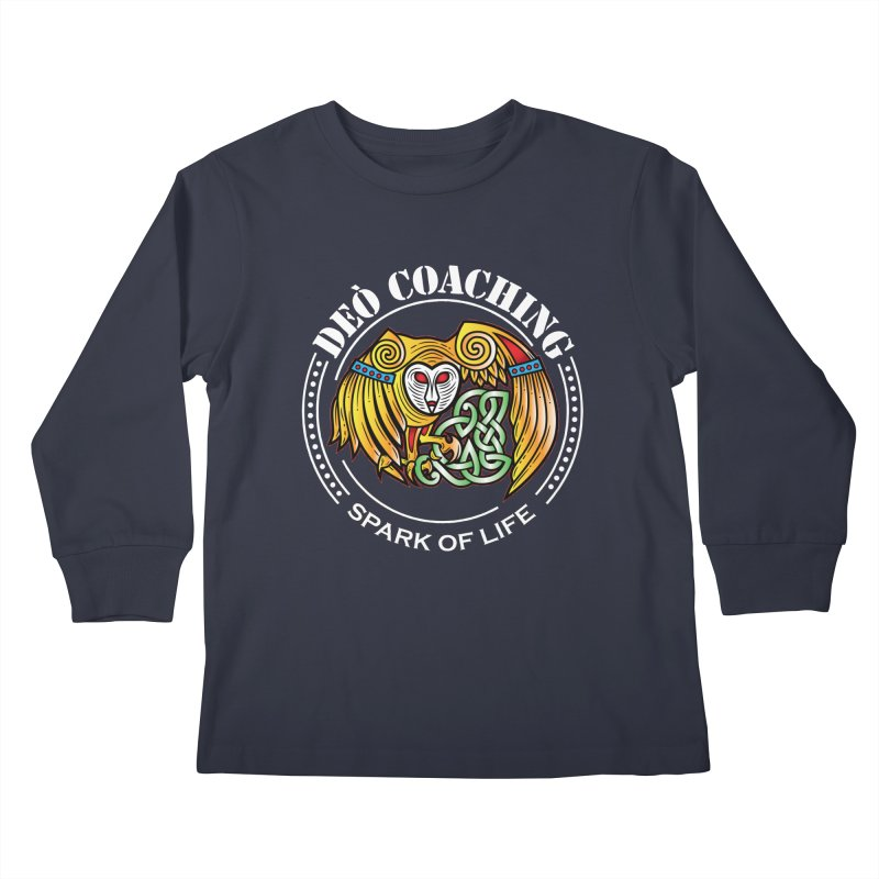 Deò Coaching Kids Longsleeve T-Shirt by Celtic Hammer Club