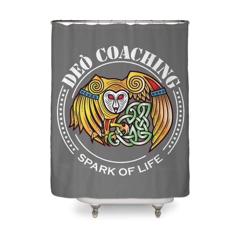 Deò Coaching Home Shower Curtain by Celtic Hammer Club Apparel