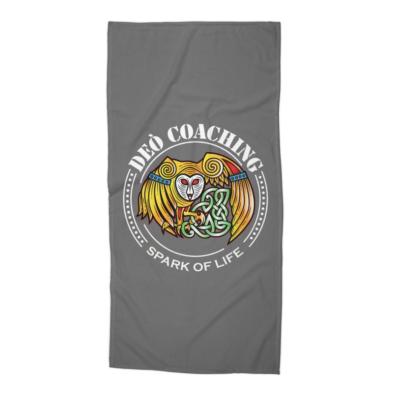 Deò Coaching Accessories Beach Towel by Celtic Hammer Club Apparel