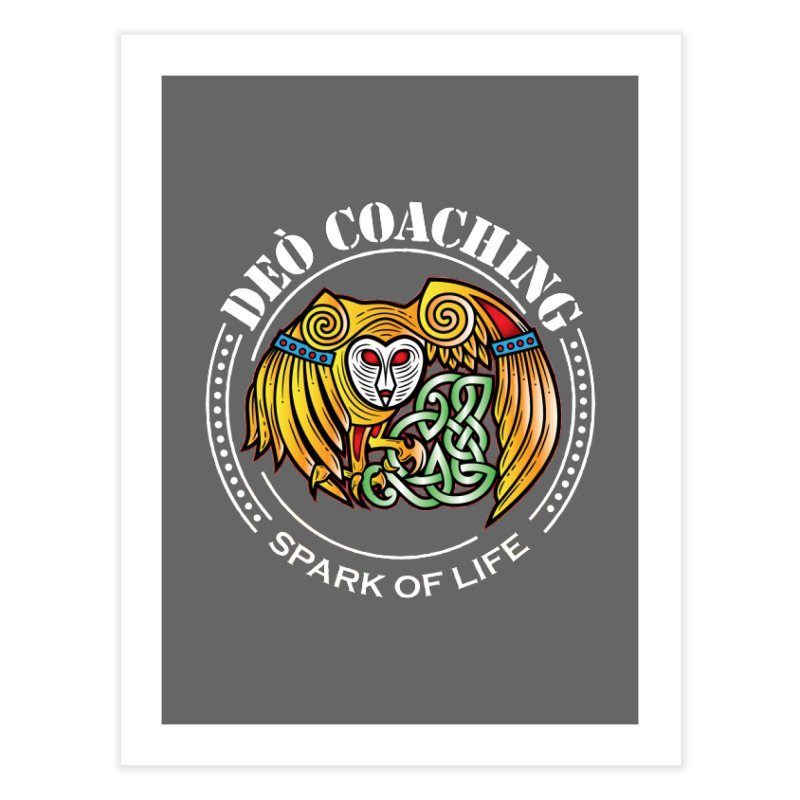 Deò Coaching Home Fine Art Print by Celtic Hammer Club