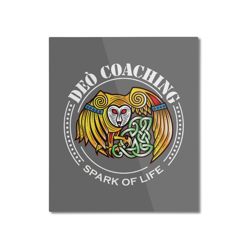Deò Coaching Home Mounted Aluminum Print by Celtic Hammer Club
