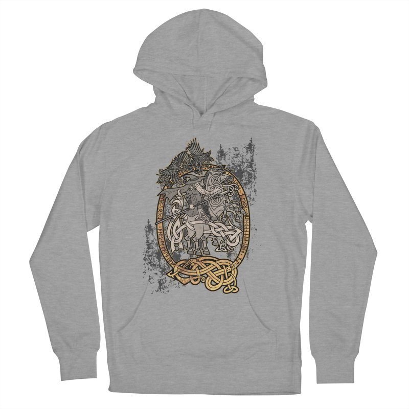 Odin the Wanderer Women's Pullover Hoody by Celtic Hammer Club