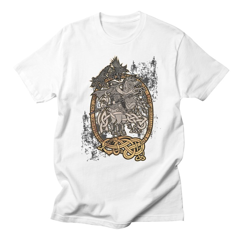 Odin the Wanderer Men's T-Shirt by Celtic Hammer Club