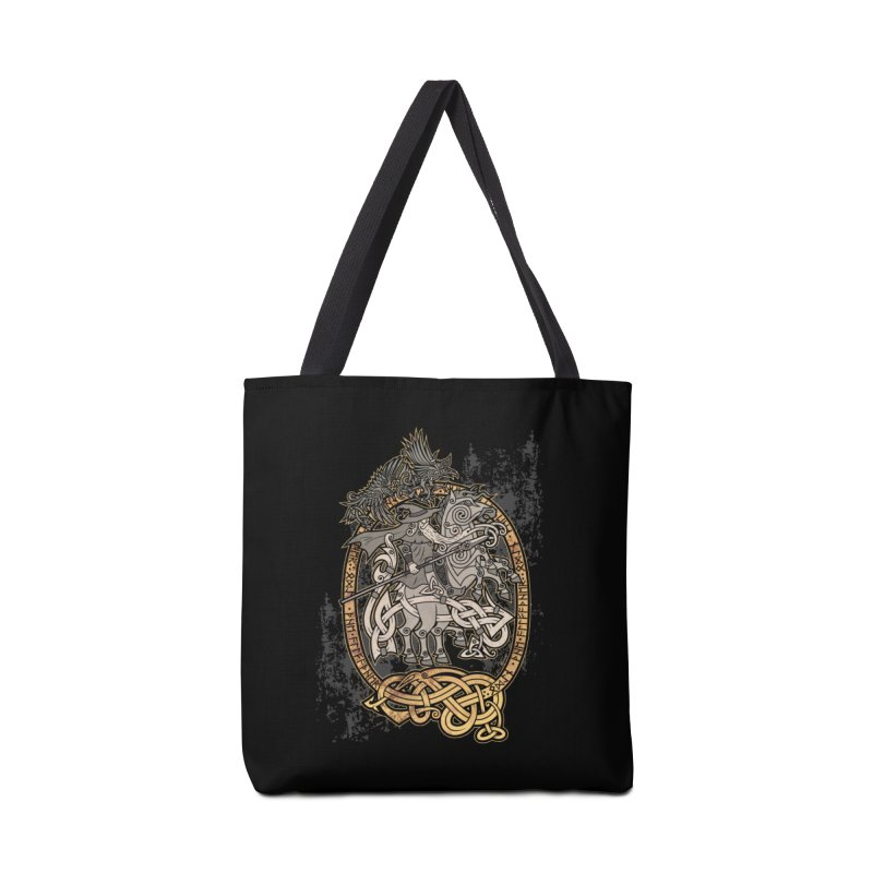Odin the Wanderer Accessories Bag by Celtic Hammer Club Apparel