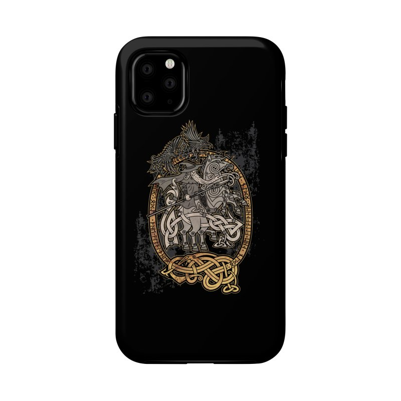 Odin the Wanderer Accessories Phone Case by Celtic Hammer Club