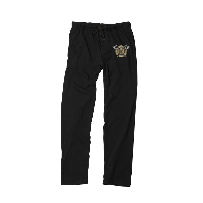 Fenrir Viking Shield (Full Color) Men's Lounge Pants by Celtic Hammer Club Apparel