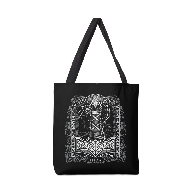 Thor Odinson, God of Thunder (Grayscale) Accessories Bag by Celtic Hammer Club Apparel