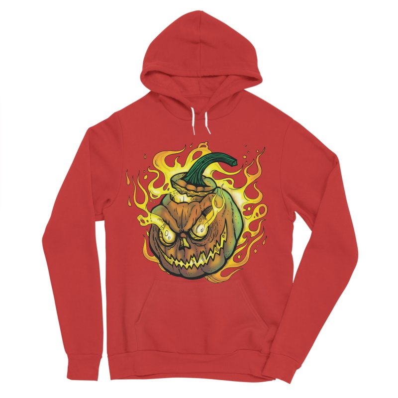 Possessed Jack O' Lantern Men's Pullover Hoody by Celtic Hammer Club