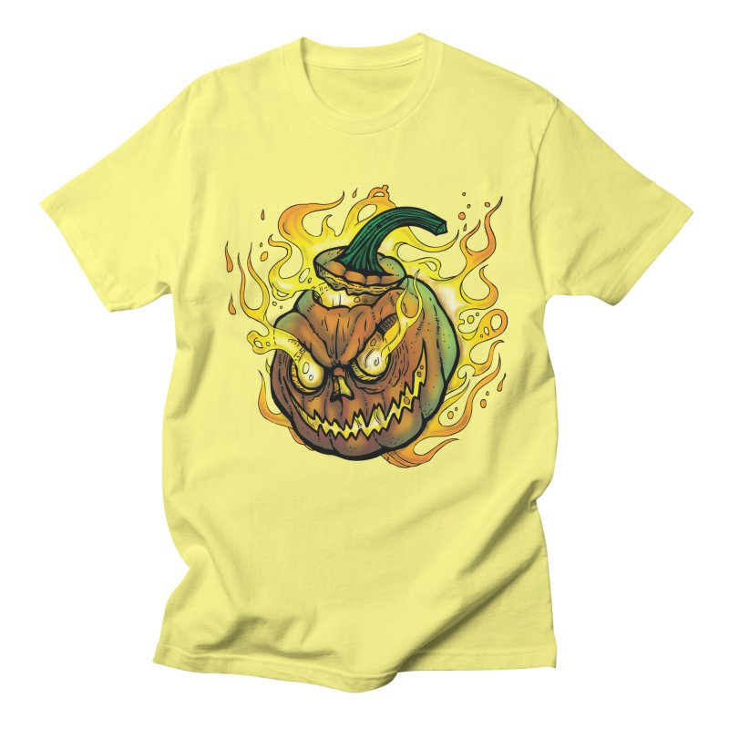 Possessed Jack O' Lantern Men's T-Shirt by Celtic Hammer Club
