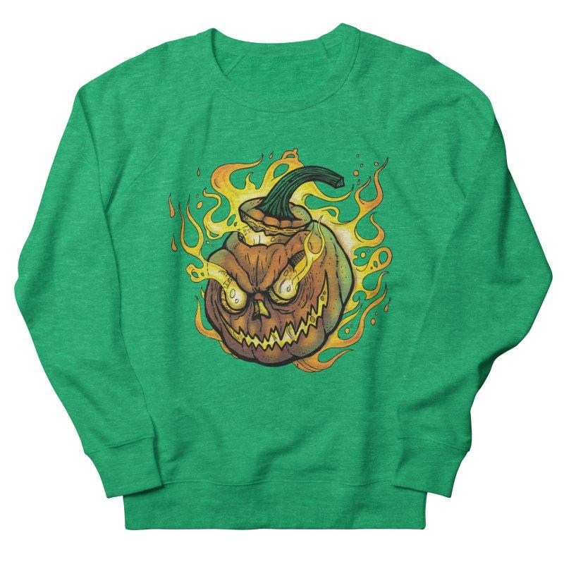Possessed Jack O' Lantern Women's Sweatshirt by Celtic Hammer Club