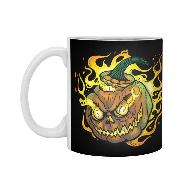 Possessed Jack O' Lantern Accessories Mug by Celtic Hammer Club