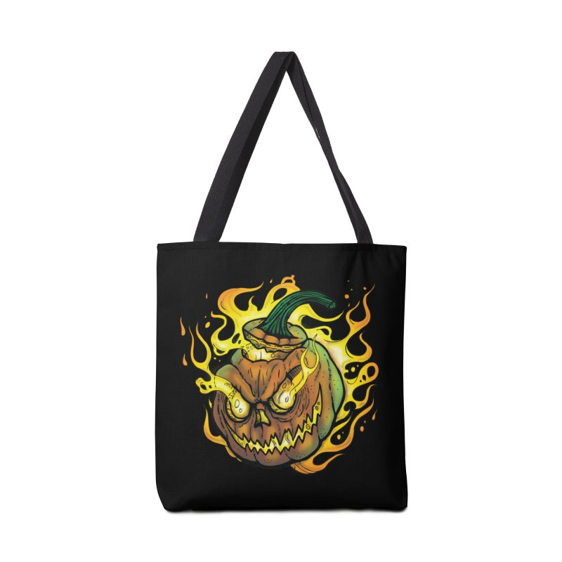 Possessed Jack O' Lantern Accessories Bag by Celtic Hammer Club