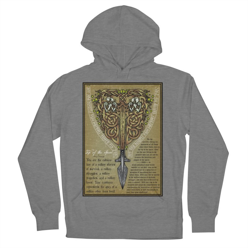 Tip of the Spear (Ancestors) Women's Pullover Hoody by Celtic Hammer Club