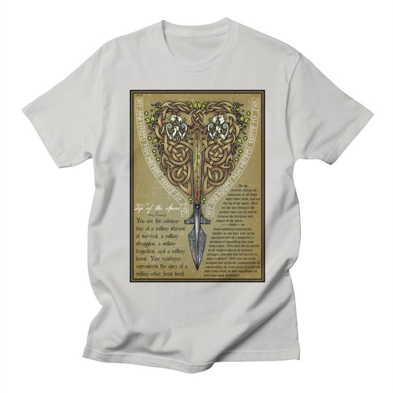 Tip of the Spear (Ancestors) Women's Regular Unisex T-Shirt by Celtic Hammer Club