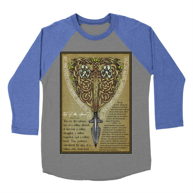 Tip of the Spear (Ancestors) Women's Longsleeve T-Shirt by Celtic Hammer Club