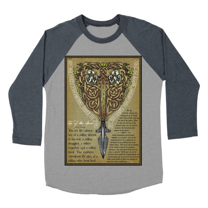 Tip of the Spear (Ancestors) Women's Longsleeve T-Shirt by Celtic Hammer Club