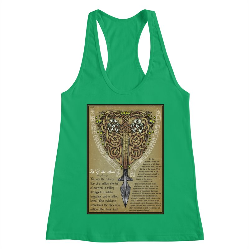 Tip of the Spear (Ancestors) Women's Tank by Celtic Hammer Club