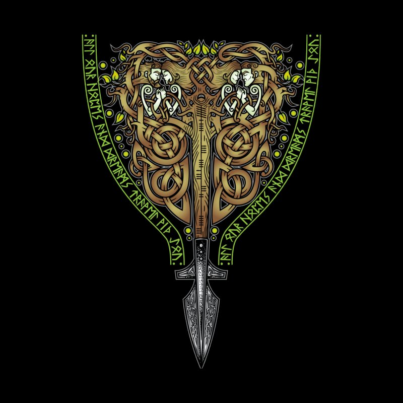 Tip of the Spear (Ancestors) Accessories Notebook by Celtic Hammer Club