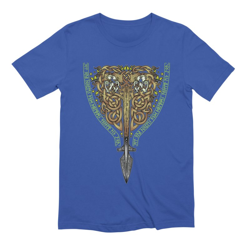 Tip of the Spear (Ancestors) Men's Extra Soft T-Shirt by Celtic Hammer Club