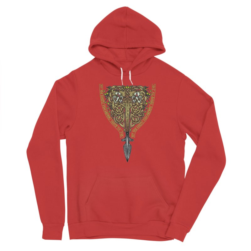 Tip of the Spear (Ancestors) Men's Pullover Hoody by Celtic Hammer Club