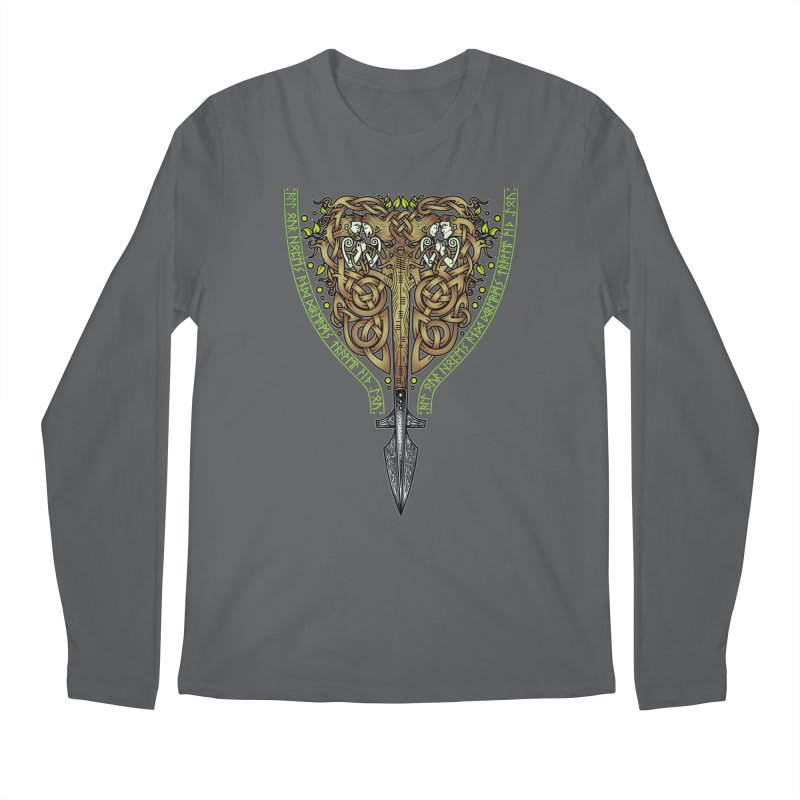 Tip of the Spear (Ancestors) Men's Longsleeve T-Shirt by Celtic Hammer Club