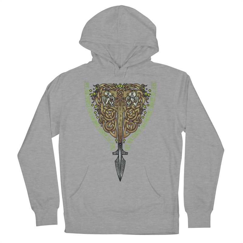 Tip of the Spear (Ancestors) Men's French Terry Pullover Hoody by Celtic Hammer Club
