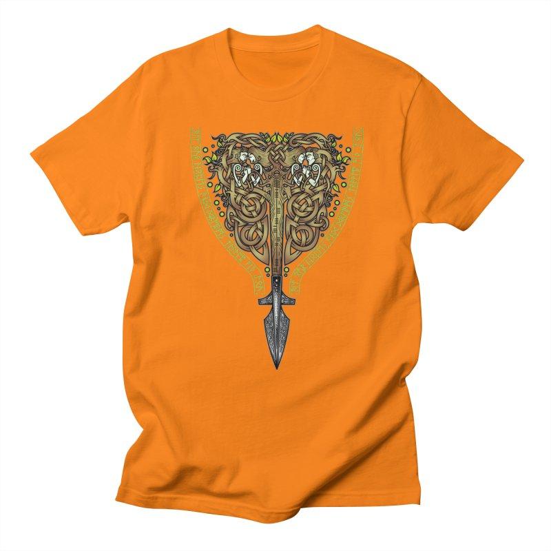 Tip of the Spear (Ancestors) Men's T-Shirt by Celtic Hammer Club
