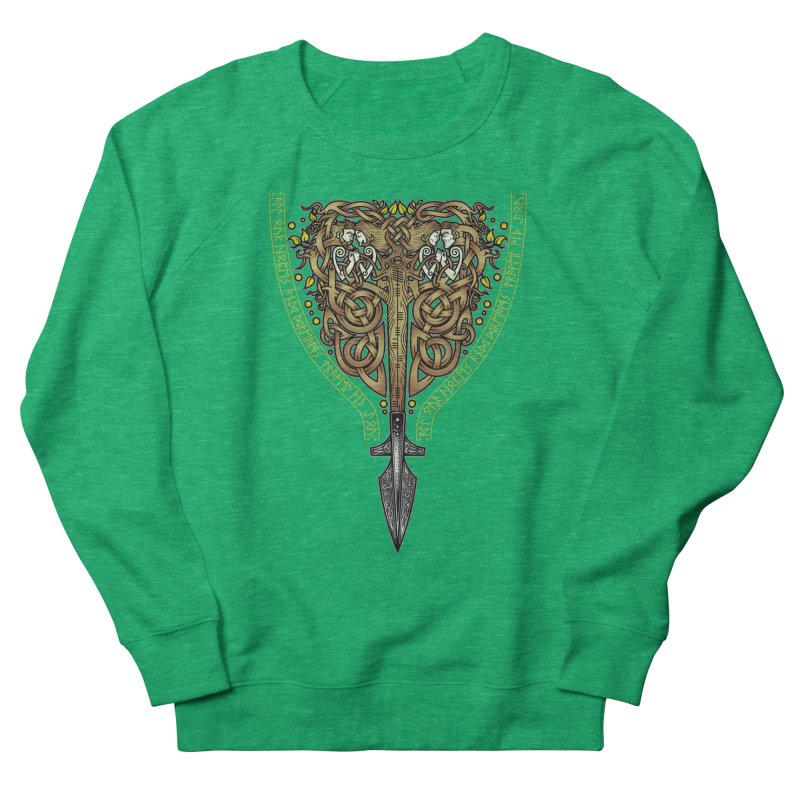 Tip of the Spear (Ancestors) Men's French Terry Sweatshirt by Celtic Hammer Club