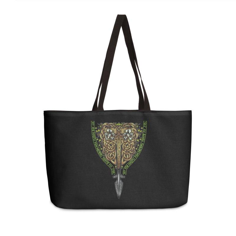 Tip of the Spear (Ancestors) Accessories Weekender Bag Bag by Celtic Hammer Club