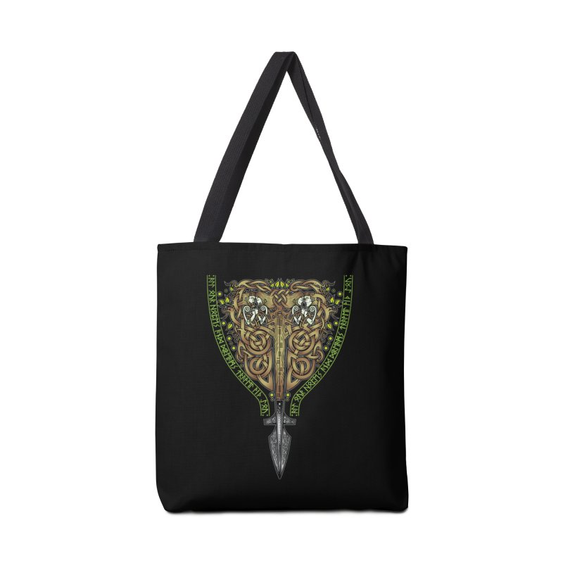 Tip of the Spear (Ancestors) Accessories Bag by Celtic Hammer Club