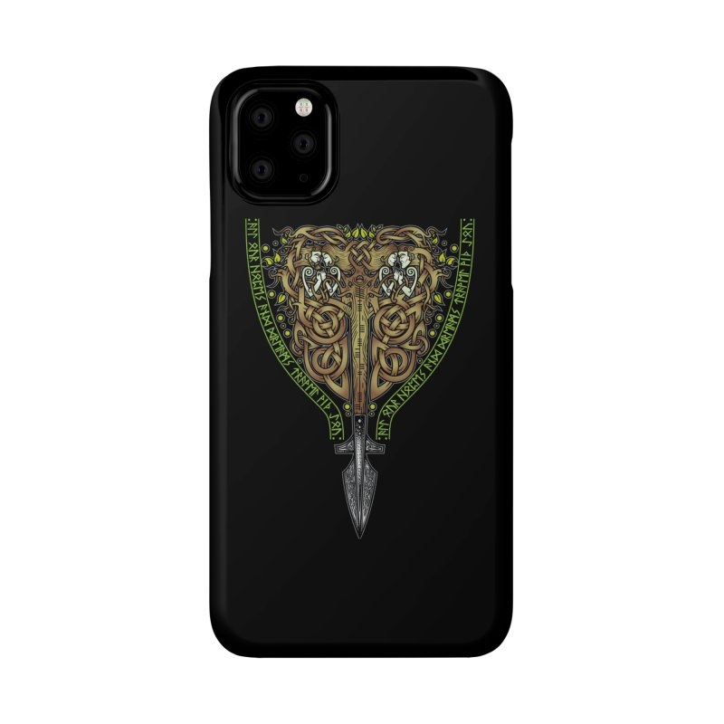 Tip of the Spear (Ancestors) Accessories Phone Case by Celtic Hammer Club
