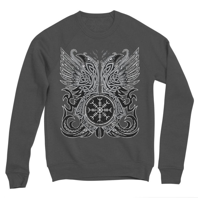 Huginn & Muninn, Odin's Ravens Women's Sponge Fleece Sweatshirt by Celtic Hammer Club