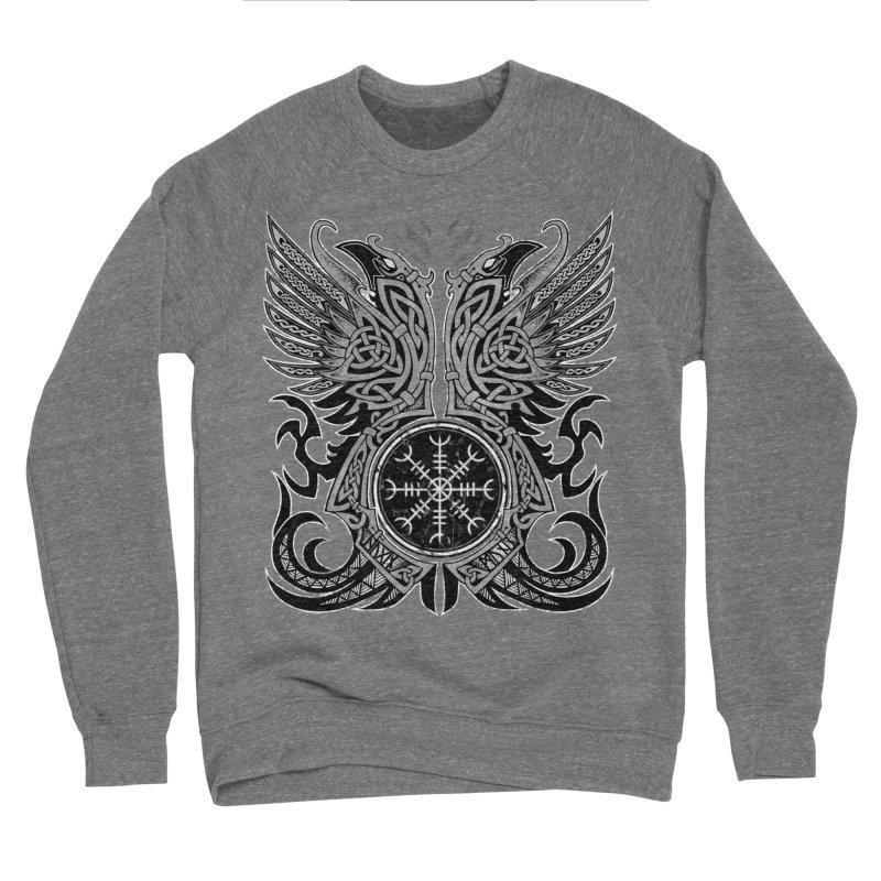 Huginn & Muninn, Odin's Ravens Women's Sponge Fleece Sweatshirt by Celtic Hammer Club